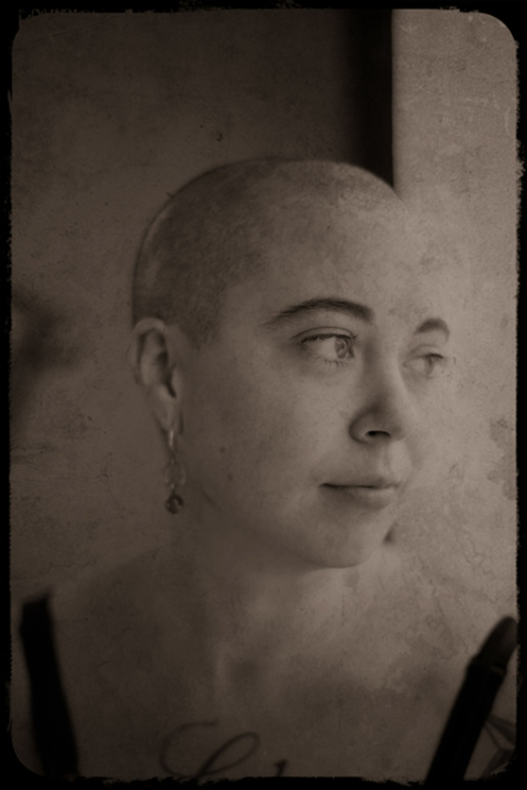 Photographed painter Angela S. Gay at home in Portland Oregon.